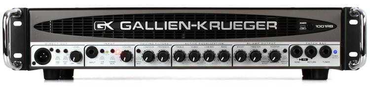 Gallien-Krueger 1001RB-II 700+50-Watt Compact Bass Head image 1