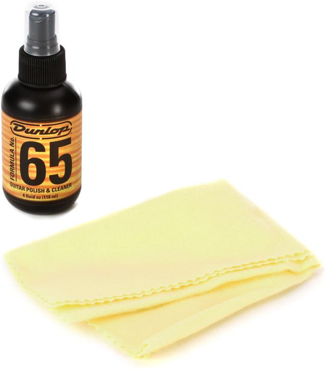 Dunlop 654C Formula No. 65 & Polish Cloth image 1