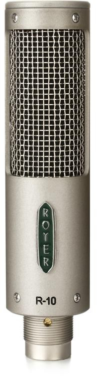 royer r 10 ribbon microphone sweetwater. Black Bedroom Furniture Sets. Home Design Ideas