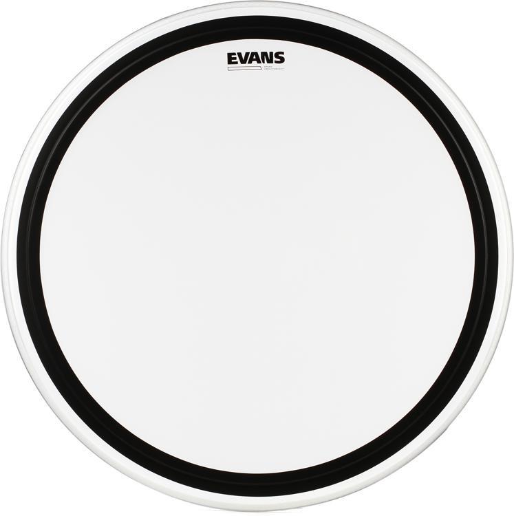 Evans EMAD Heavyweight Clear Bass Batter Head - 26