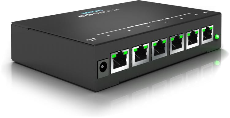 MOTU AVB Switch - 5-Port Audio Video Bridging Switch image 1