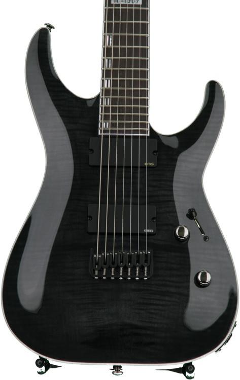 ESP LTD H-1007 - See Thru Black image 1