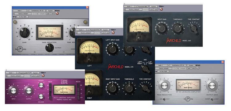 Avid BF Classic Compressors Bundle image 1