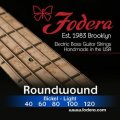 Fodera 40120 Nickel Roundwound 5-string Bass Strings - 0.040-0.120 Light