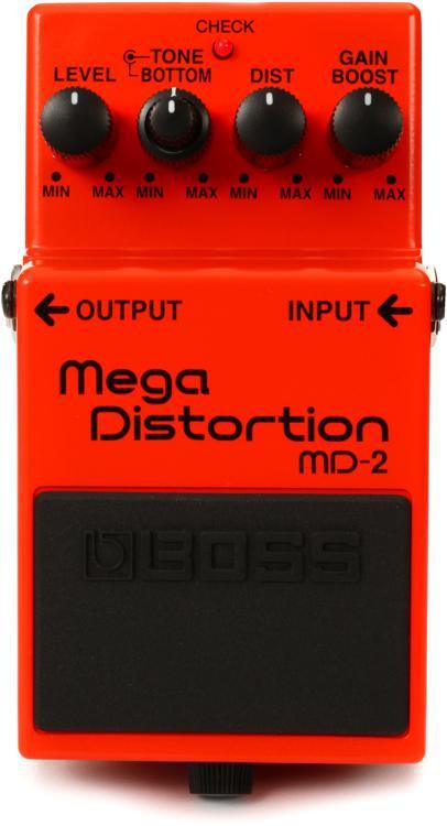 Boss MD-2 Mega Distortion Pedal image 1