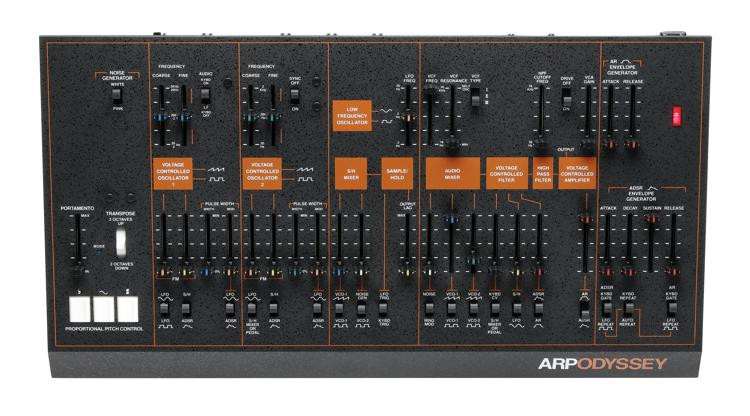 ARP Odyssey Synthesizer Module - Black/Orange image 1