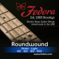 Fodera 40100 Nickel Roundwound Bass Strings - 0.040-0.100 Light