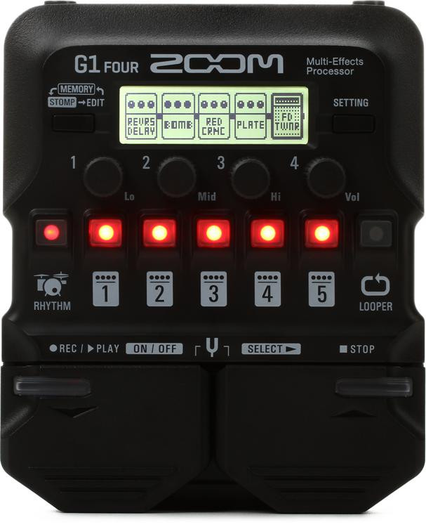 G1 FOUR Multi-effects Processor