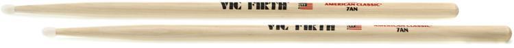 Vic Firth American Classic Drum Sticks - 7A - Nylon Tip image 1