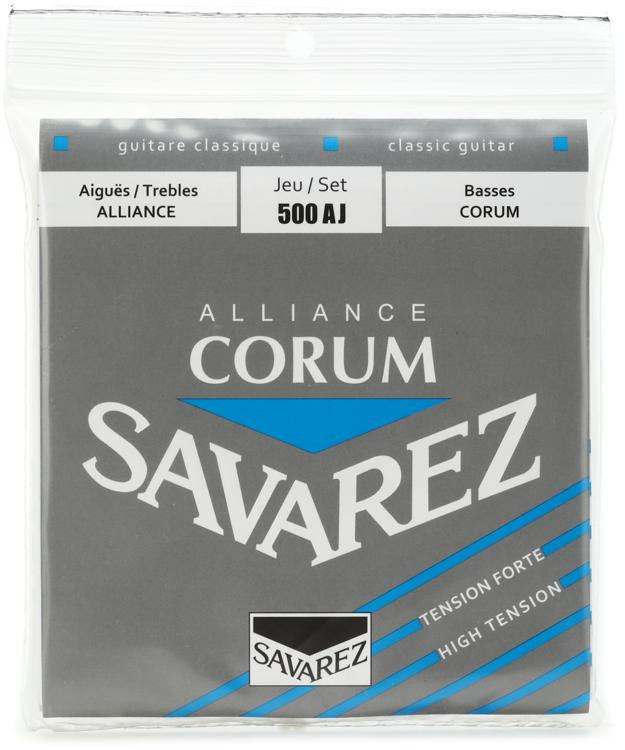 Savarez S.A. 500AJ Alliance Corum High Tension Classical Guitar Strings image 1