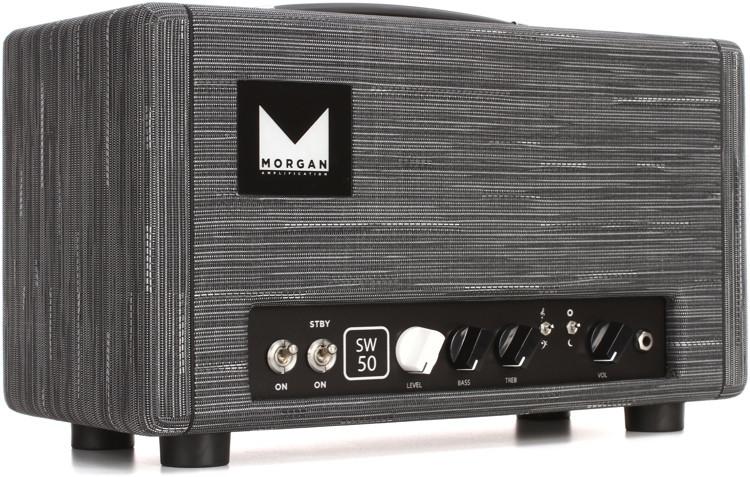 morgan amps sw50 50 watt high headroom tube head twilight sweetwater. Black Bedroom Furniture Sets. Home Design Ideas