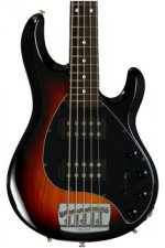 Ernie Ball Music Man StingRay5 HH Neck-Through - Vintage Sunburst