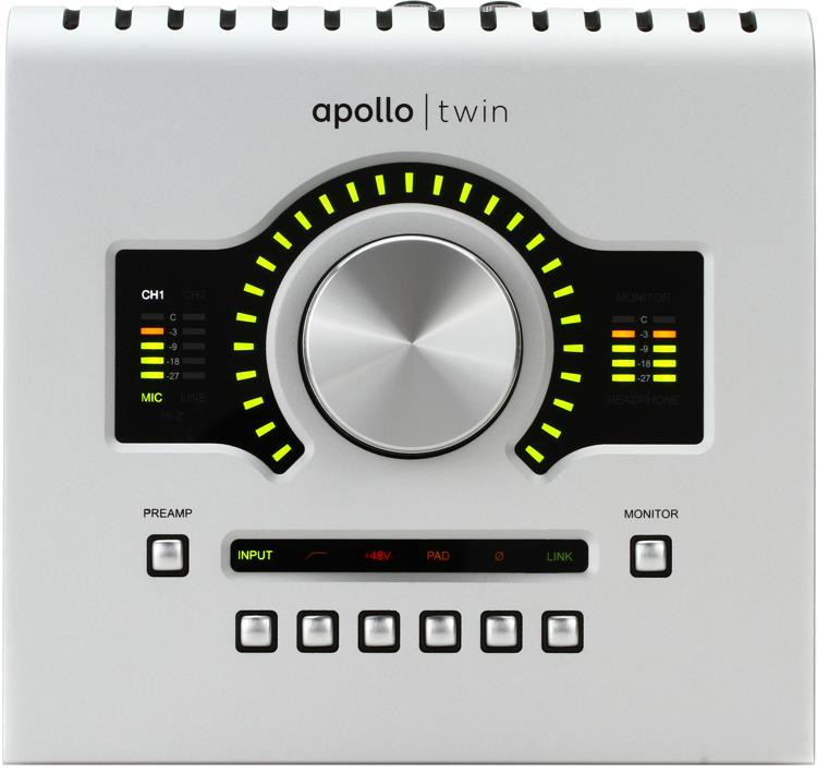 Apollo Twin USB DUO 2x6 USB Audio Interface with UAD DSP