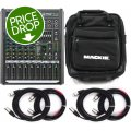 Mackie ProFX8v2 8-channel Mixer with Case and Cables