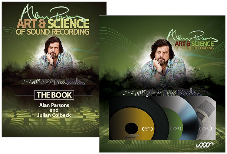 Sweetwater Alan Parsons Art & Science of Sound Recording - Book & DVD Bundle! image 1