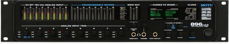 MOTU 896mk3 Hybrid image 1