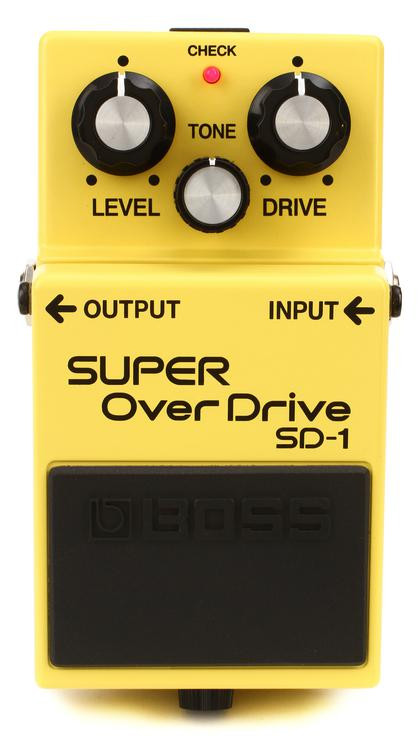 Boss SD-1 Super Overdrive Pedal image 1