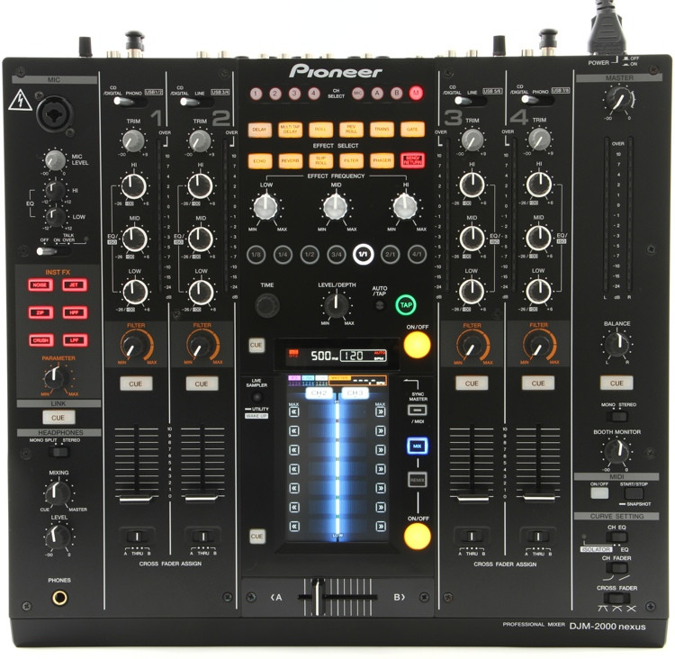 Pioneer DJ DJM-2000nexus 4-channel Linkable DJ Mixer image 1