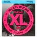 D'Addario EXL170S Nickel Wound Short Scale Bass Strings - .045-.100 Light