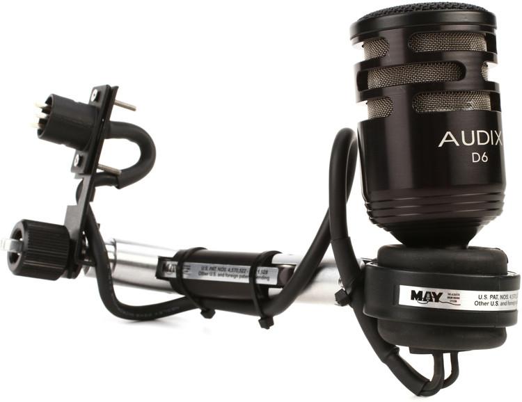 DW DSMAD6BD - Audix D6 Bass Drum MBM-2 System image 1