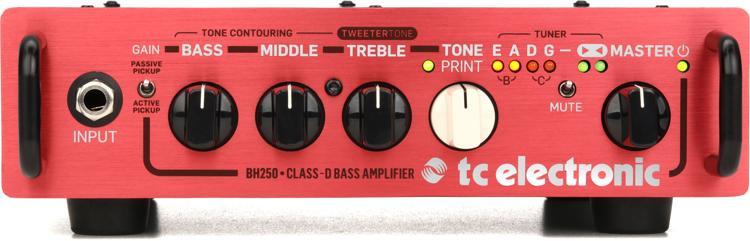 TC Electronic BH250 250-Watt Compact Bass Head image 1