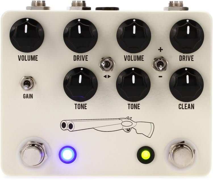 Double Barrel V4 2-in-1 Dual Overdrive Pedal