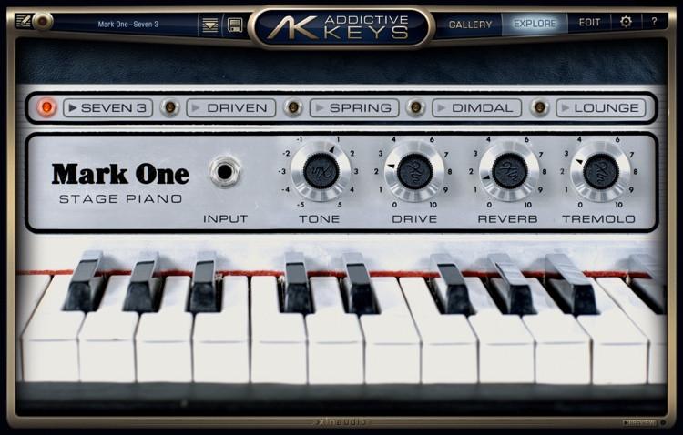 XLN Audio Addictive Keys Mark One image 1