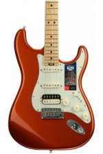 Fender American Elite Stratocaster HSS Shawbucker - Autumn Blaze Metallic with Maple Fingerboard