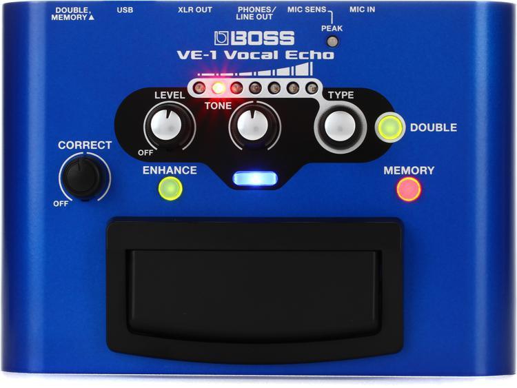 Boss VE-1 Vocal Echo Pedal image 1