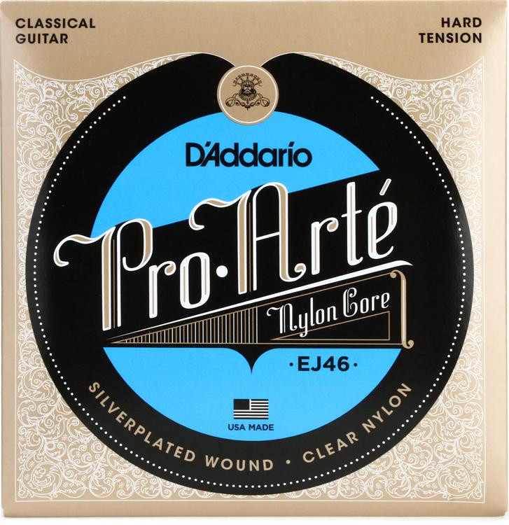 D\'Addario Pro-Arte Classical Guitar Strings - Hard Tension image 1