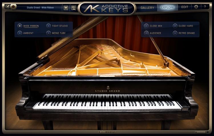 XLN Audio Addictive Keys Studio Grand image 1