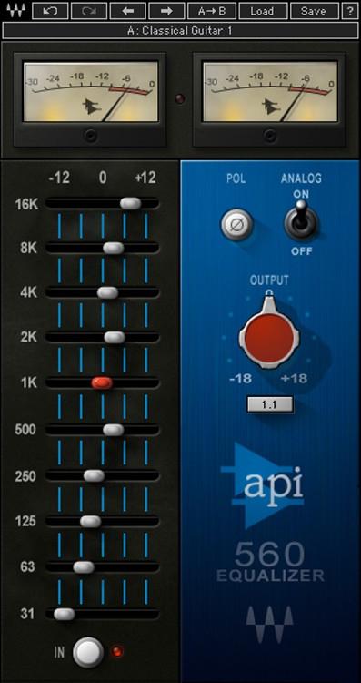 Waves API 560 Plug-in image 1