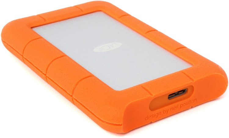 LaCie Rugged Mini 4TB USB 3.0 Portable Hard Drive image 1