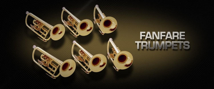 Vienna Symphonic Library Fanfare Trumpets - Standard Library image 1