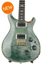 PRS Custom 22 Piezo Figured Top - Trampas Green with Pattern Neck
