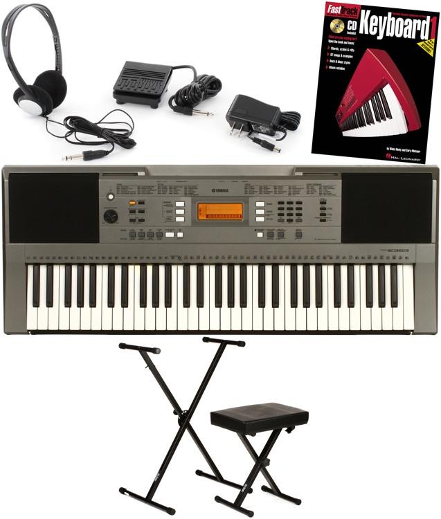 Yamaha PSR-E353 Essential Keyboard Bundle image 1
