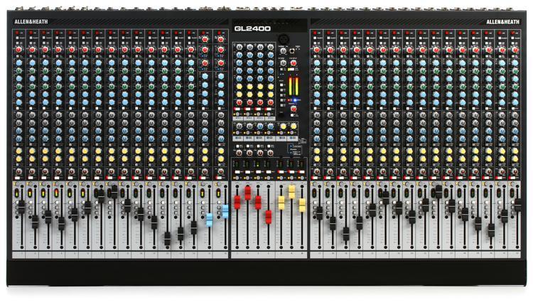 Allen & Heath GL2400-32 Dual-function Live Mixer image 1