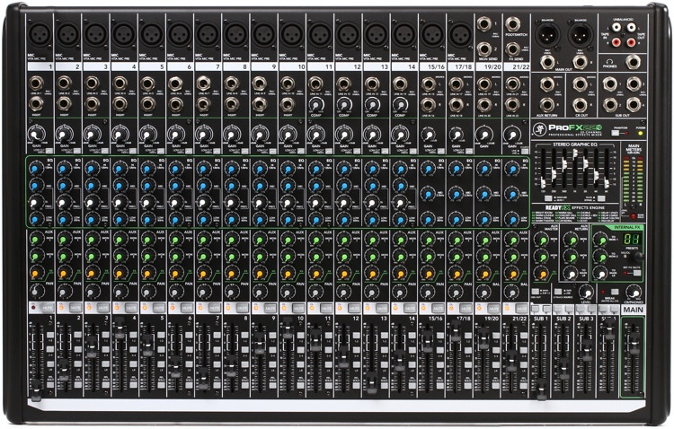 Mackie ProFX22v2 Mixer and USB Audio Interface with Effects image 1