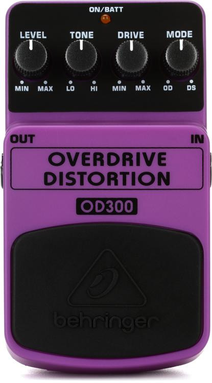 Behringer OD300 Overdrive / Distortion Pedal image 1
