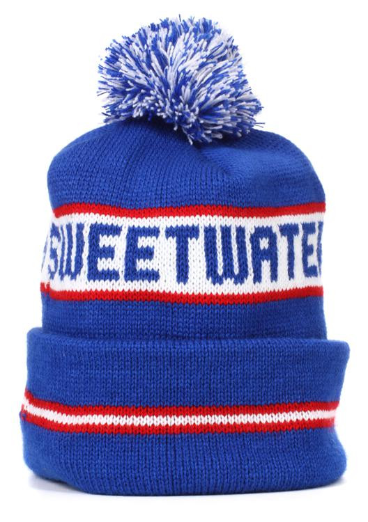 Sweetwater Campus Beanie - Red, White, and Blue image 1