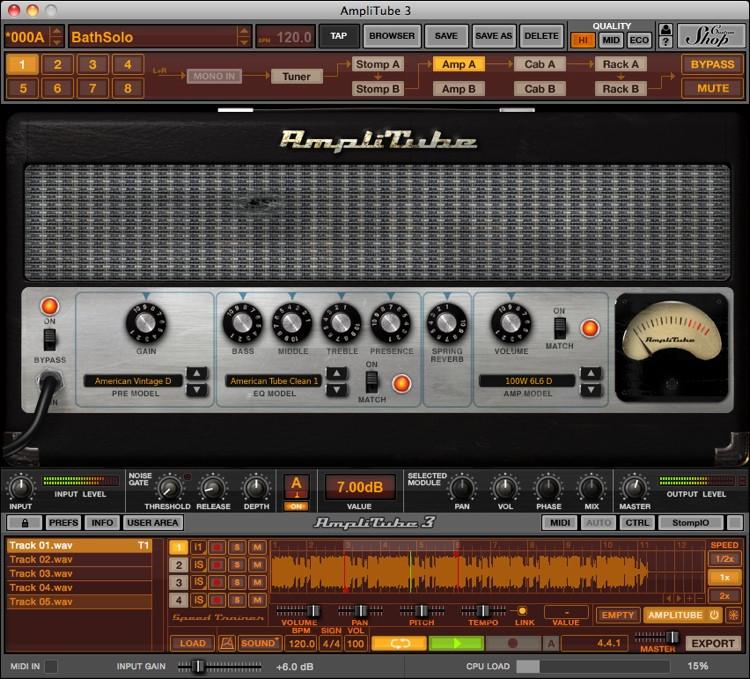 IK Multimedia AmpliTube Jimi Hendrix Software Suite image 1