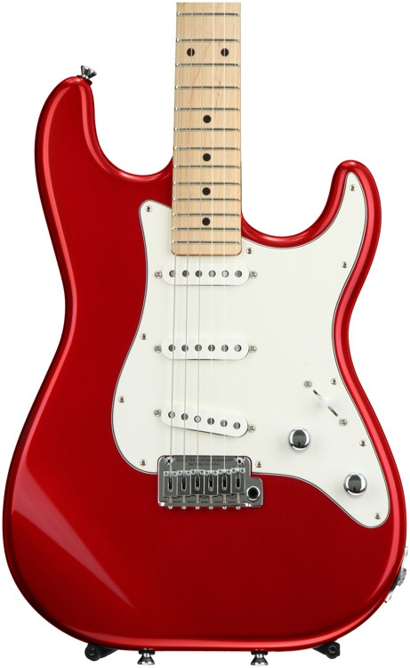 Schecter USA Traditional - Candy Red with Maple Fingerboard and VS-1 Pickups image 1