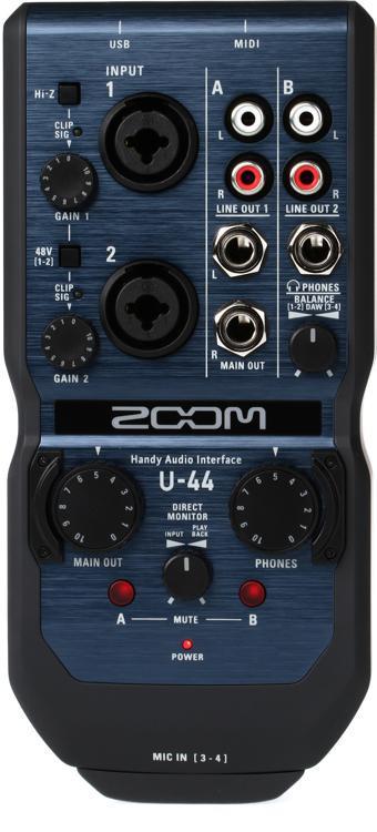Zoom U-44 Handy Audio Interface image 1