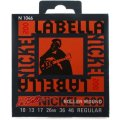 La Bella N1046 Nickel 200 Rollerwound Electric Guitar Strings - Regular