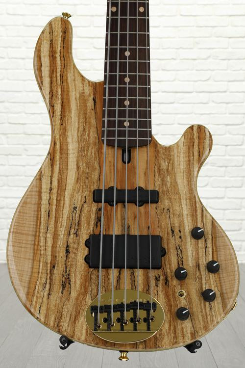 Lakland 55-94 Deluxe, Exotic Top - Spalted Maple with Rosewood fingerboard image 1