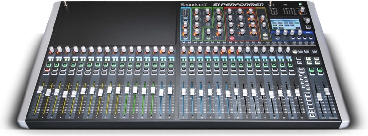 Soundcraft Si Performer 3 Digital Mixer with DMX Control image 1