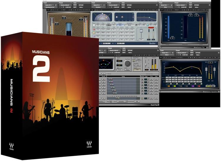 Waves Musicians Bundle 2 Academic Version image 1