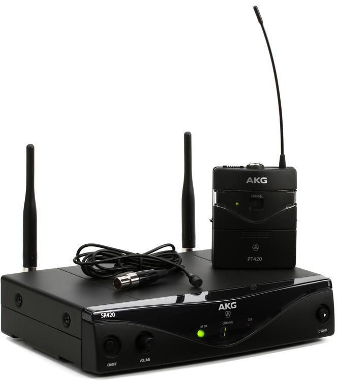 AKG WMS420 Presenter System - Band A image 1