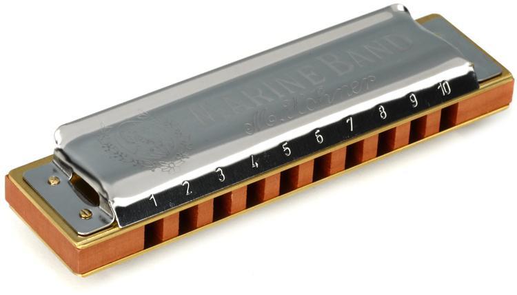 Hohner Marine Band - Key of G Sharp image 1