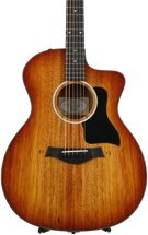 Taylor 224ce-K DLX - Shaded Edgeburst, Layered Koa back and sides
